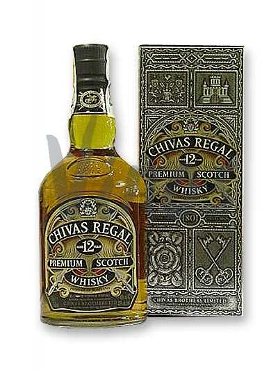 Виски Chivas Regal 12 лет 1.75 у\п -